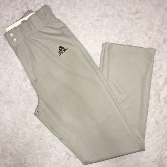 adidas Other - Adidas Med Golf Baseball Climalite Grey Pants